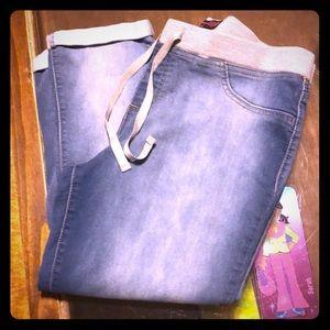 Woman's Capri jeans